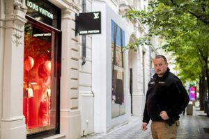 Bezpečí ve městě a na ulici v Pařížské