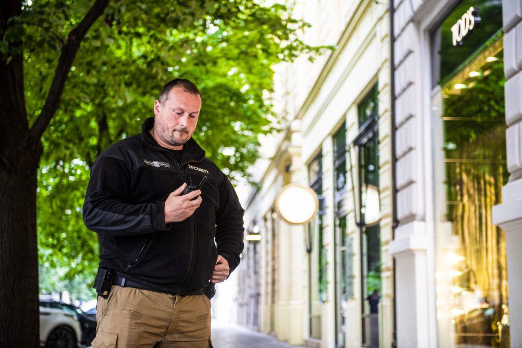Zajištění bezpečnosti ulic měst a obcí