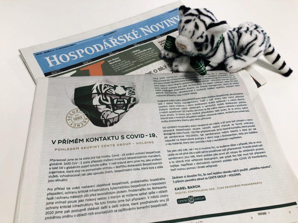 Náhled vydání Hospodářských novin