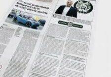 Bezpečnostní agentura Centr Group v Hospodářských novinách